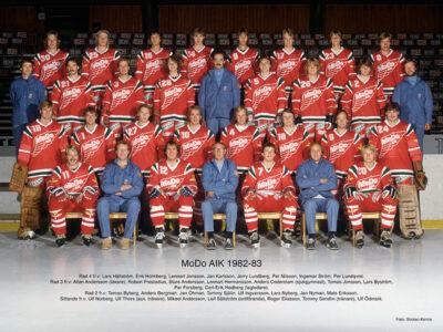 Lagbilder - MODO Hockey